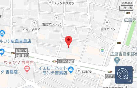 「車検の速太郎」 広島吉島店の地図